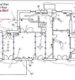 electrical plan drawing image [ 2200 x 1700 Pixel ]