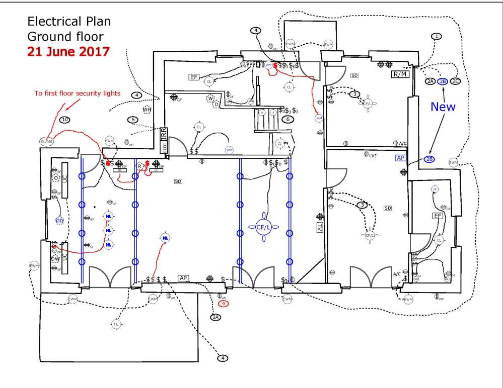 medium resolution of an electrical plan
