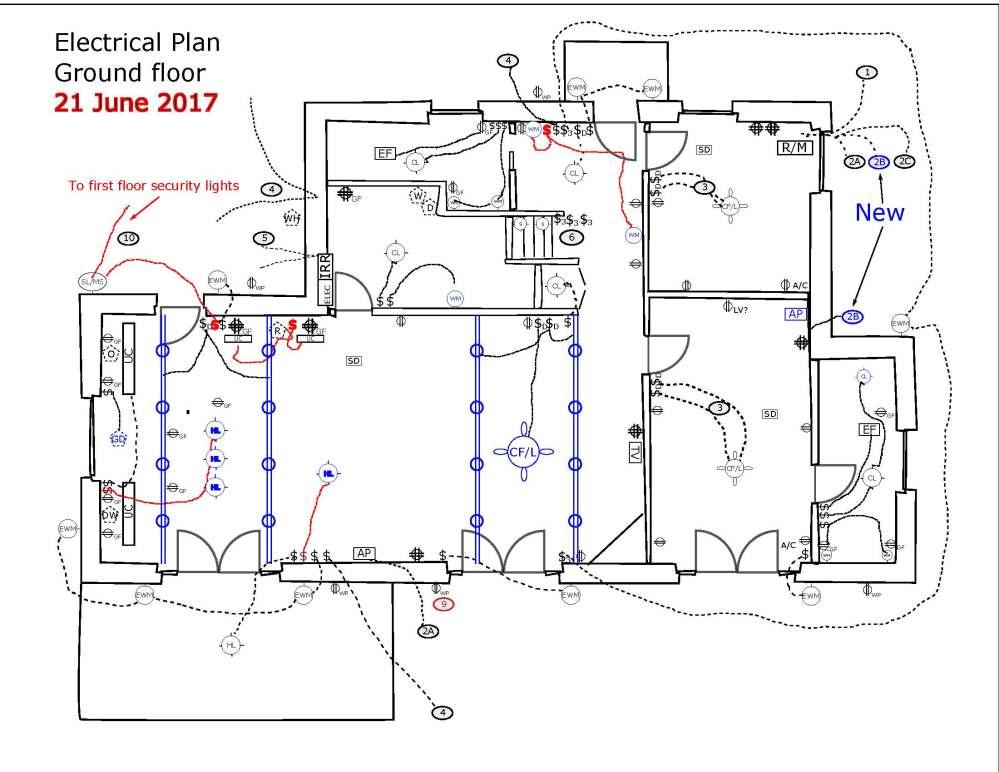 medium resolution of electrical plan drawing image