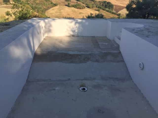New Pool Base Poured