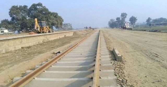 जनकपुर–जयनगर रेल सेवा : क्षतिग्रस्त लिकको पुनर्निर्माण करीब ४ महीनापछि शुरू