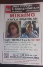 Kayla Nicole Swanigan Missing