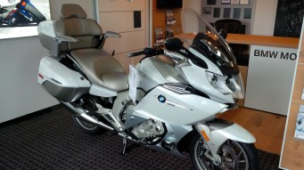Uh oh. Donna fell in love with this K1600GTL Exclusive.
