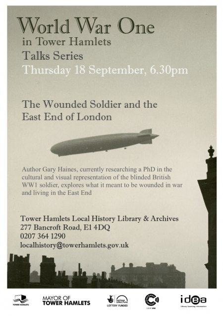 Wounded Soldier talks poster