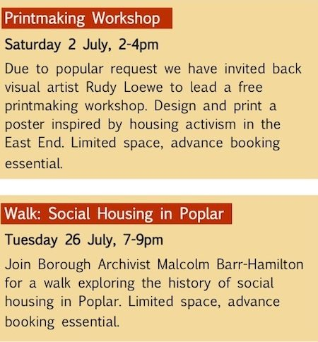Radical Housing Exhibition8Exhibition Launch Invite
