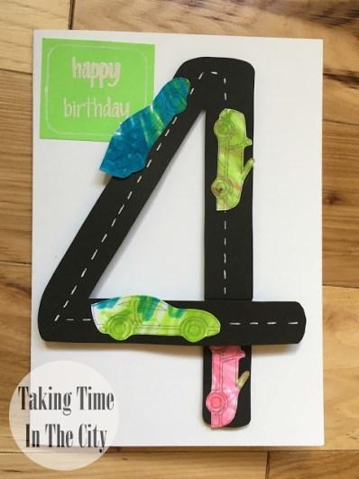 Our Boy Life - Boy Car Birthday Card