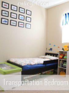 Transportation Bedroom