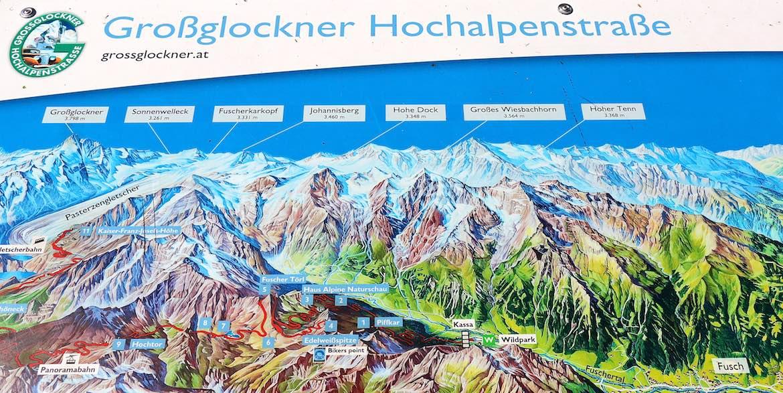 Grossglockner sign.