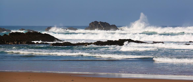 Beaches near Vila do Bispo.