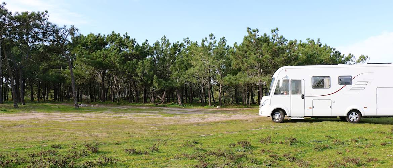 Our little spot just outside Vila de Bispo.