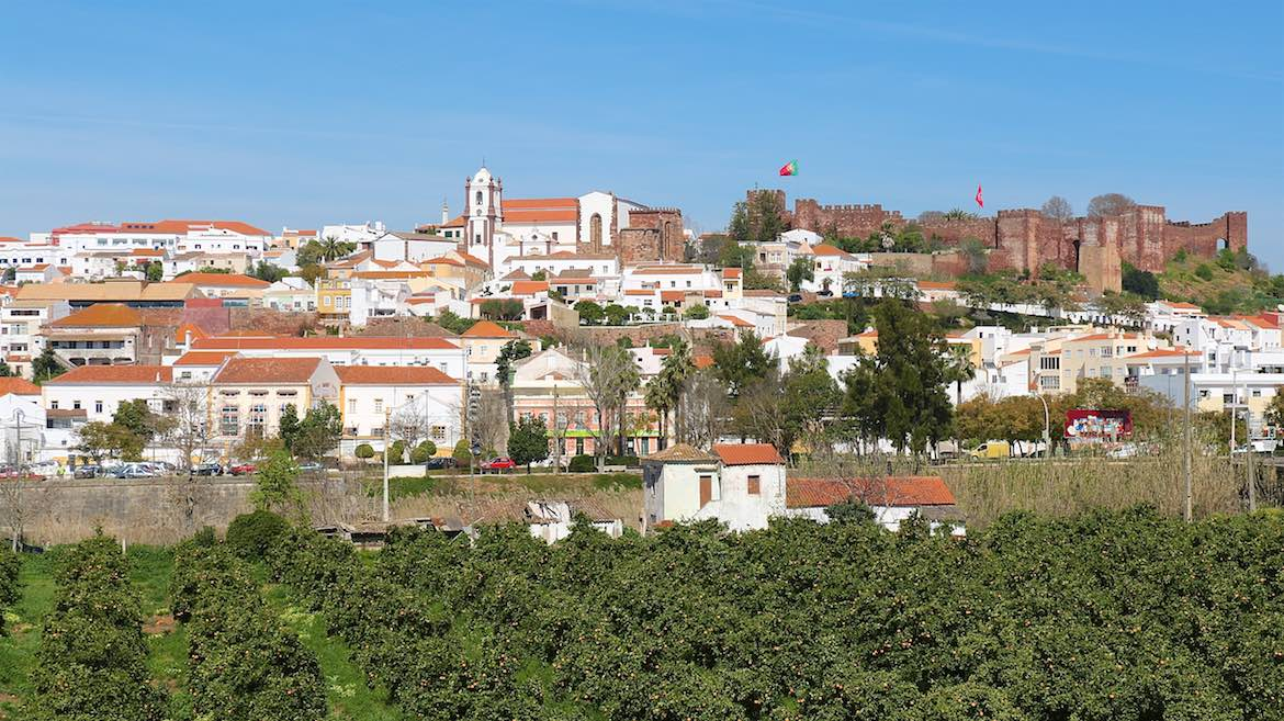 Silves, the ancient capital.
