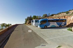 Parking is above the coach park in Alquezar or further down if very quiet.