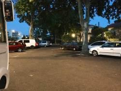 Parking spot in Nimes.