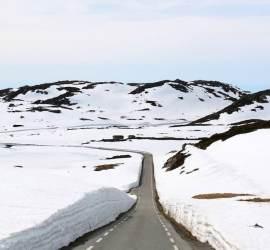Motorhome drives - Suleskard Pass