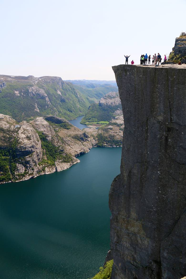Preikestolen...the climb