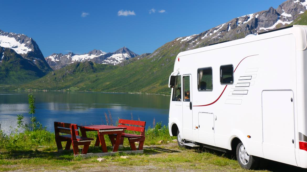 Hopeful in Harstad motorhome