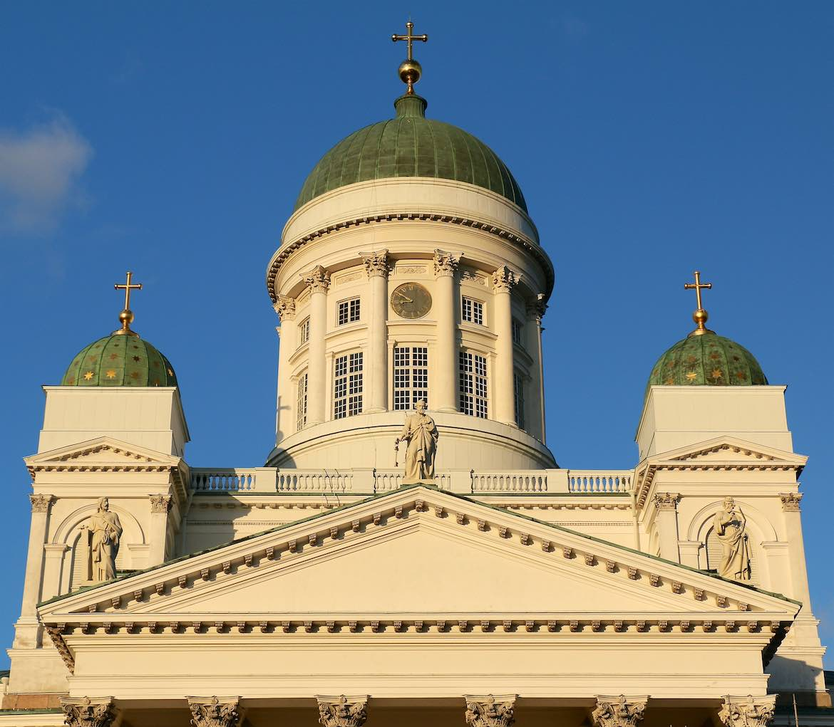 Helsinki Cathedral Exterior