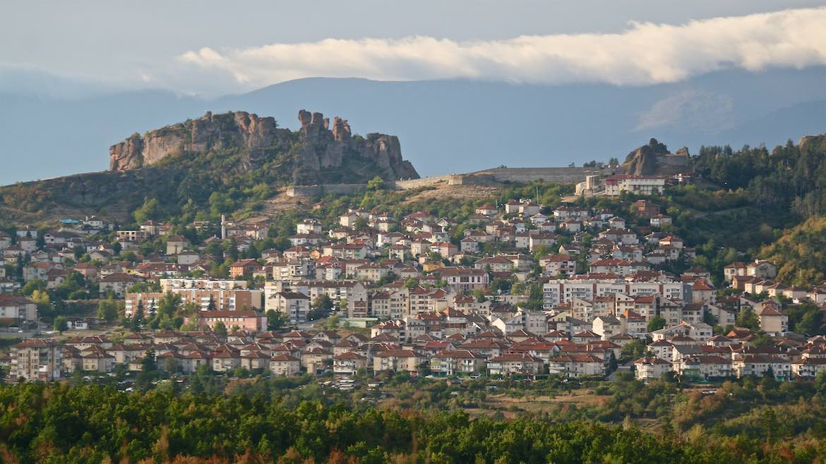 Belogradchik from afar