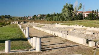 Old Pella ruins