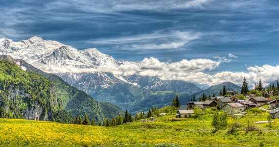 Moonlight and Magic at Mont Blanc