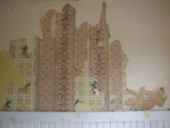 Wallpaper in our kitchen