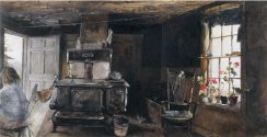 Wood Stove [A. Wyeth, 1960]