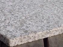 Light colored flamed granite
