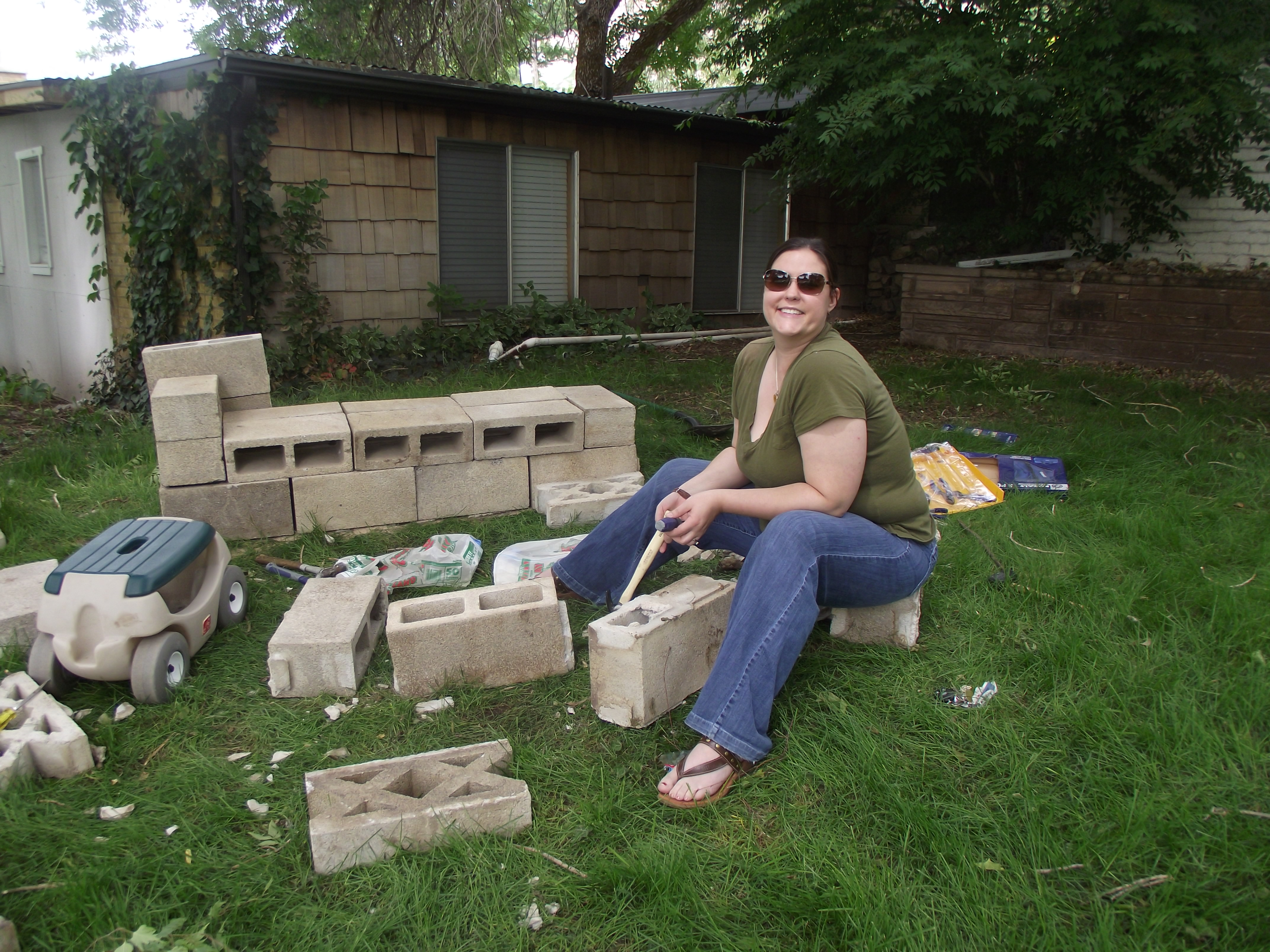 how to recycle my sofa modular design 2018 making a recycled cinder block couch our children 39s earth