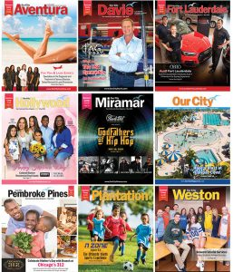 Covers of Our City Magazines