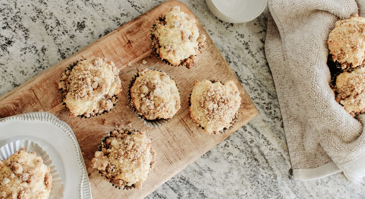 In the Kitchen: Crumble Cake Muffins