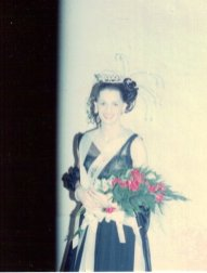 Cissy Tagburn the night she won Miss Gay Indiana America 1981