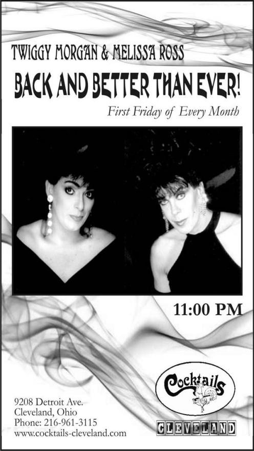 Show Ad | Cocktails (Cleveland, Ohio) | Circa 2008