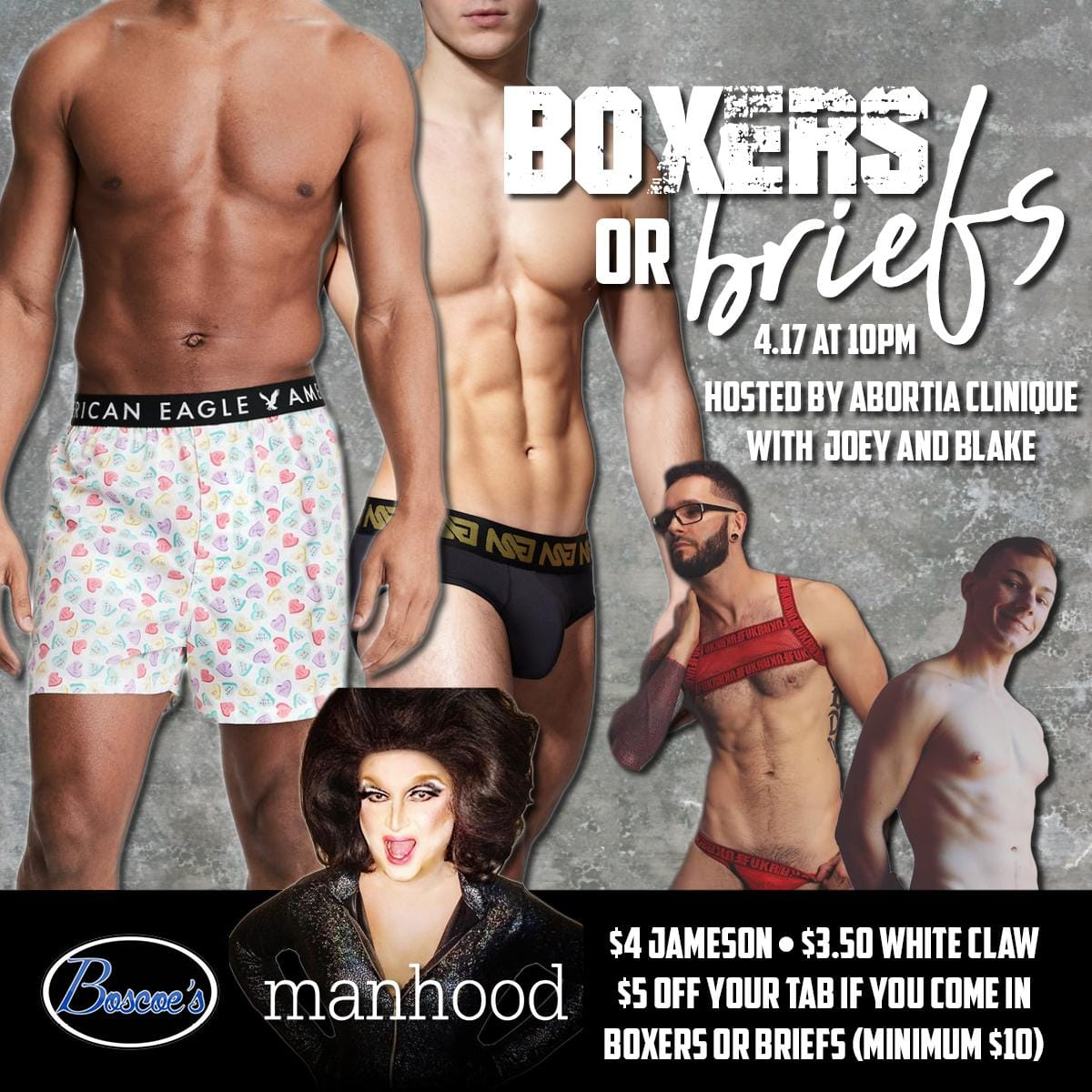 Show Ad   Boscoe's (Columbus, Ohio)   4/17/2019