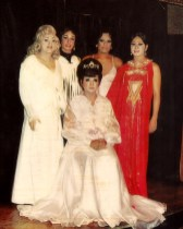 Lady Baronessa (seated). Back Row: Billie Boots, unknown, unknown, and Roski Fernandez. (photo courtesy of Brenda Leigh)