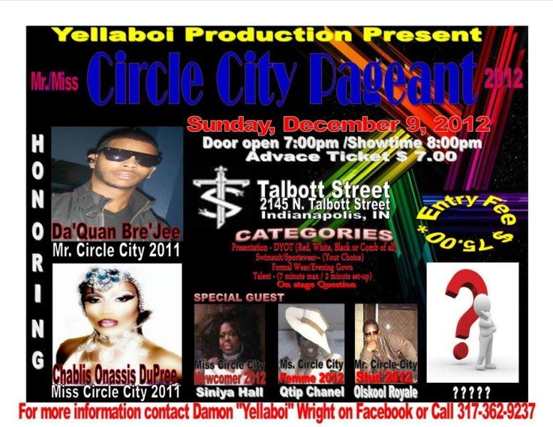 Show Ad   Talbott Street (Indianapolis, Indiana)   12/9/2012