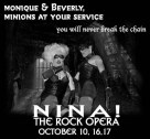 Show Ad | Nina! The Rock Opera | Monique Devereaux and Beverly Ford | Axis Night Club (Columbus, Ohio) | October 2004