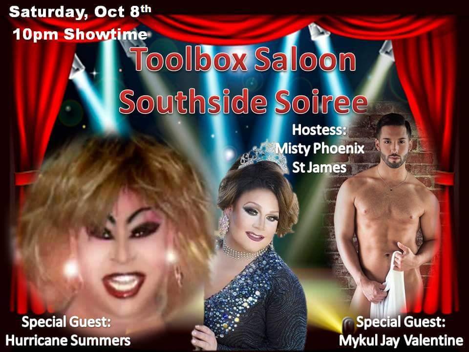 Show Ad   Toolbox Saloon (Columbus, Ohio)   10/8/2016