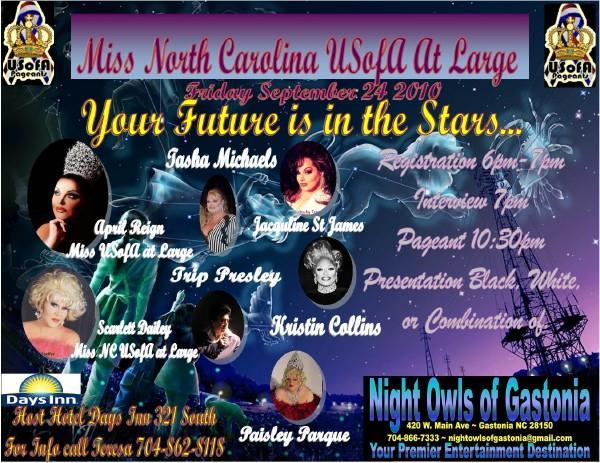 Show Ad   Night Owl Night Club (Gastonia, North Carolina)   9/24/2010