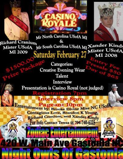 Show Ad | Night Owl Night Club (Gastonia, North Carolina) | 2/27/2010