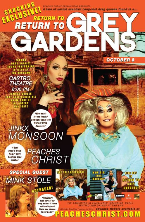 Show Ad | Return to Grey Gardens | Castro Theatre (San Francisco, California) | 10/8/2016