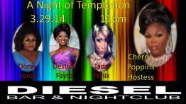 Show Ad | Diesel Bar & Nightclub (Springfield, Ohio) | 3/29/2014