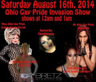 Show Ad   Bretz (Toledo, Ohio)   8/16/2014