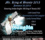 Mr. King of Beauty   Interbelt Nite Club (Akron, Ohio)   1/20/2013