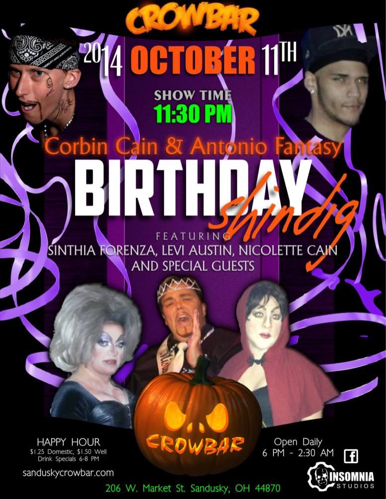 Show Ad | Crowbar (Sandusky, Ohio) | 10/11/2014