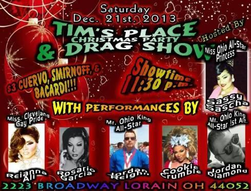 Show Ad | Tim's Place (Lorain, Ohio) | 12/21/2013