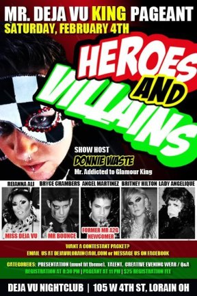 Show Ad | Deja Vu (Lorain, Ohio) | 2/4/2012