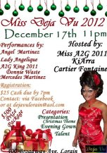 Miss Deja Vu 2012 - Deja Vu (Lorain, Ohio) - 12/17/2011