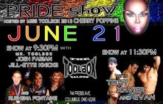 Show Ad | Toolbox Saloon (Columbus, Ohio) | 6/21/2014