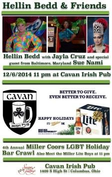Show Ad   Cavan Irish Pub (Columbus, Ohio)   12 /6/2014
