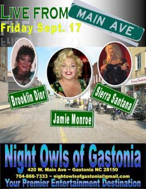 Show Ad   Night Owl Night Club (Gastonia, North Carolina)   9/17/2010
